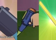 3 món bảo bối chiến đấu siêu hạng của Doraemon, Nobita chỉ cần 1 cái cũng bá đạo