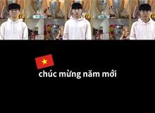 Các thành viên T1 đăng clip mừng năm mới, có cả lời chúc bằng tiếng Việt tới fan LMHT Việt Nam