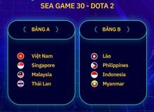 Chia bảng bộ môn DOTA 2: Việt Nam tiếp tục đụng phải đối thủ duyên nợ Thái Lan