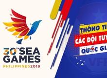 Lịch thi đấu đầy đủ của các môn eSports tại SEA Games 30