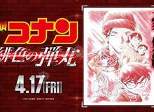 Nối tiếp thành công khủng, Movie thứ 24 của Conan tung poster và hé lộ ngày công chiếu