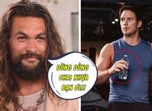 """Cầm chai nhựa khi quay quảng cáo, """"Star-Lord"""" Chris Pratt bị """"Aquaman"""" Jason Momoa mắng cho một trận vì không có ý thức bảo vệ môi trường"""
