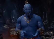 """Biết trước sẽ xấu, nhưng tạo hình Thần Đèn của Will Smith trong """"Aladdin"""" vẫn gây sốc vì không khác gì xì trum"""