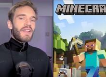 """Quyết tâm """"lầy lội"""" tới phút cuối, Pewdiepie chọn stream Minecraft để cản bước T-Series và hiệu quả không ngờ"""