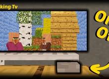 Không còn là giấc mơ, game thủ giờ đây có thể xem phim ngay trong Minecraft
