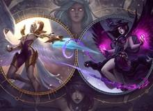 LMHT: Cập nhật toàn bộ trang phục Morgana, hình ảnh chi tiết về hai trang phục mới K/DA Ahri Hàng Hiệu và Brand Hồ Quang