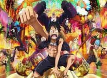 """Movie One Piece Stampede: Hé lộ tạo hình chính thức các thành viên băng Mũ Rơm cùng kẻ thù sở hữu Haki Bá Vương cực """"bá đạo"""""""