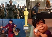 Toàn cảnh Oscar 2019: Danh sách những đề cử và người chiến thắng, Black Panther xuất sắc mang vinh quang về cho Marvel