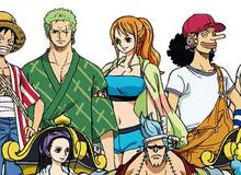 """One Piece: Hé lộ trang phục mới """"mát mẻ"""" của băng Mũ Rơm trong movie Stampede, Nami với Robin ngày càng """"gợi cảm"""""""