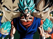 7 chiến binh Saiyan mạnh nhất đã xuất hiện trong mạch truyện chính của Dragon Ball