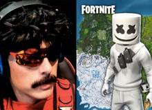 Dr Disrespect không thể tin được khi Marshmello có skin trong Fortnite trước cả Ninja