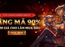 LMHT: Hướng dẫn sử dụng mã giảm giá 90%, món quà đầu năm mà Garena tặng cho game thủ Việt