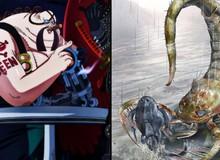 """One Piece: Hé lộ trái ác quỷ hệ Zoan cổ đại của Queen Bệnh Dịch, cực """"bá đạo"""" và """"tàn độc"""""""