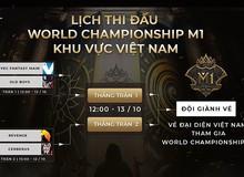 Cận cảnh những điểm nóng trước vòng tuyển chọn World Championship M1 tại Việt Nam