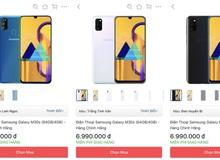 Tiki giảm hẳn 1 triệu cho Samsung M30s chỉ trong sáng nay