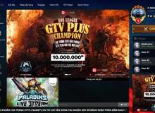 GTV chơi lớn, Big Update GTV Plus với giao diện mới và sự trở lại của 3 tựa game huyền thoại