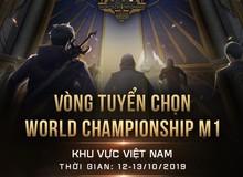 Mobile Legends: Bang Bang công bố vòng tuyển chọn World Championship M1 tại Việt Nam