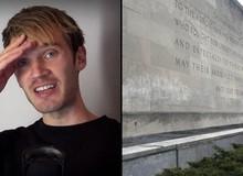 Vẽ bậy lên đài tưởng niệm để bảo vệ thần tượng, fan của Pewdiepie bị chỉ trích dữ dội