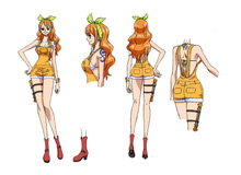Hé lộ trang phục chính thức đẹp miễn chê của băng Mũ Rơm trong One Piece: Stampede