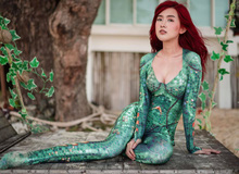 Ngẩn ngơ với bộ ảnh cosplay nàng công chúa Mera nóng bỏng trong Aquaman