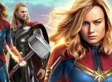 Nhận được lời khen của Thor, nhưng liệu Captain Marvel có thể nâng được Búa thần Mjolnir?