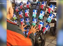 """Cụ ông người Đài Loan huy động tới 21 smartphone để """"đua TOP"""" trong Pokemon GO"""