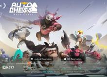 Trò chơi nhân phẩm Auto Chess Mobile mở trang chủ tiếng Anh, cho đăng ký bằng e-mail