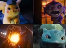 Đây là lý do các Pokemon có đôi mắt tím và hành động hung hăng trong Detective Pikachu