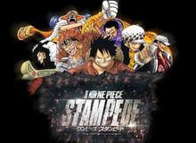 """Dàn nhân vật hùng hậu sẽ """"đổ bộ"""" One Piece: Stampede, tiếc là băng Mũ Rơm sẽ thiếu Jinbe"""