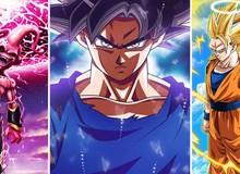 """Dragon Ball: Top 10 lần biến đổi """"ấn tượng"""" nhất khiến các fan phải choáng ngợp không thể nào quên"""