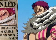 One Piece: 5 hải tặc máu mặt có mức truy nã trên một tỷ Beri