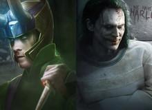 """Bất ngờ khi siêu anh hùng Marvel và DC hoán đổi cho nhau, Loki """"chất như nước cất"""" ác từ trong trứng nước"""