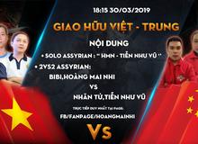 Đại chiến AoE Việt Trung 2019: Hoàng Mai Nhi, BiBi đụng độ Nhãn Tử - Ông Vua đánh 4A của AoE Trung Quốc