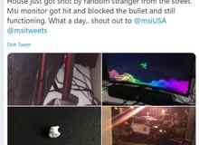 Không thể tin nổi, màn hình MSI gaming đã cứu được chủ nhân một mạng sau vụ xả súng kinh hoàng