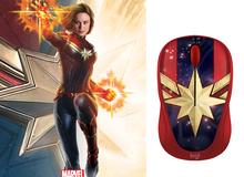 Ăn theo phim siêu anh hùng mới, Logitech lập tức tung ra chuột Captain Marvel cực đẹp