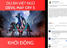 Vừa ra mắt được 1 ngày, Devil May Cry 5 đã khởi động dự án Việt Hóa