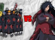 Naruto: Madara Uchiha mạnh hơn tất cả các thành viên của tổ chức khủng bố Akatsuki, kể cả là Itachi hay Nagato?