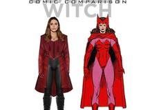 Khi các siêu anh hùng bước từ comic sang phiên bản điện ảnh khiến các fan phải choáng ngợp