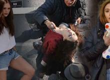 """Những hình ảnh hậu trường """"cực độc"""" của nàng Scarlet Witch trong phim siêu anh hùng của Marvel"""