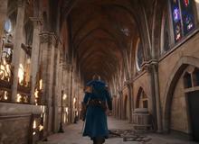 Thăm quan toàn cảnh Nhà thờ Đức Bà Paris trước khi cháy qua lăng kính Assassin's Creed Unity