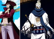 """One Piece: Kiếm sĩ mạnh nhất thế giới Mihawk và huyền thoại Ryuma đã sử dụng Haki Bá Vương để luyện thành """"hắc kiếm""""? (Phần 1)"""