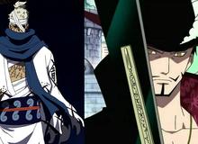 """One Piece: Kiếm sĩ mạnh nhất thế giới Mihawk và huyền thoại Ryuma đã sử dụng Haki Bá Vương để luyện thành """"hắc kiếm""""? (Phần 2)"""