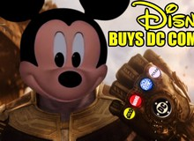 Sau Marvel và Fox, liệu Disney có nên tất tay mua luôn cả DC Comics?