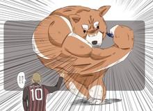 """Chú chó tung nắm đấm """"không trượt phát nào"""" như thánh Saitama bỗng trở thành meme trên mạng xã hội"""