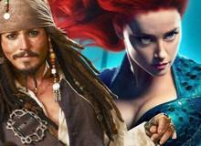 """""""Hết tình còn nghĩa"""" Johnny Depp liệu có quá ác khi từng cố gắng khiến Amber Heard bị sa thải khỏi Aquaman?"""
