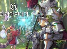 Game manga siêu đẹp Peria Chronicles cuối cùng cũng thử nghiệm sau 6 năm biệt tích