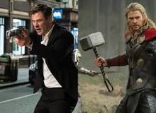 """Chán cầm búa """"Thần Sấm Thor"""" đổi gió sang súng đi săn người ngoài hành tinh trong Men in Black: International"""