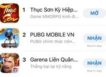 Thục Sơn Kỳ Hiệp Mobile ALL-KILL tất cả các BXH App Store và CH Play, xin nhắc lại là ALL-KILL!