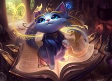 LMHT: Thông số chi tiết bộ kỹ năng của tướng mới Yuumi - Chú mèo ma thuật