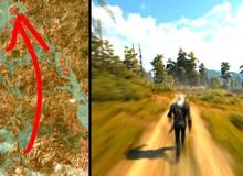 Tinh thần game thủ: Đi bộ xuyên qua các bản đồ của The Witcher 3 để thực hiện video time-lapse tuyệt đẹp